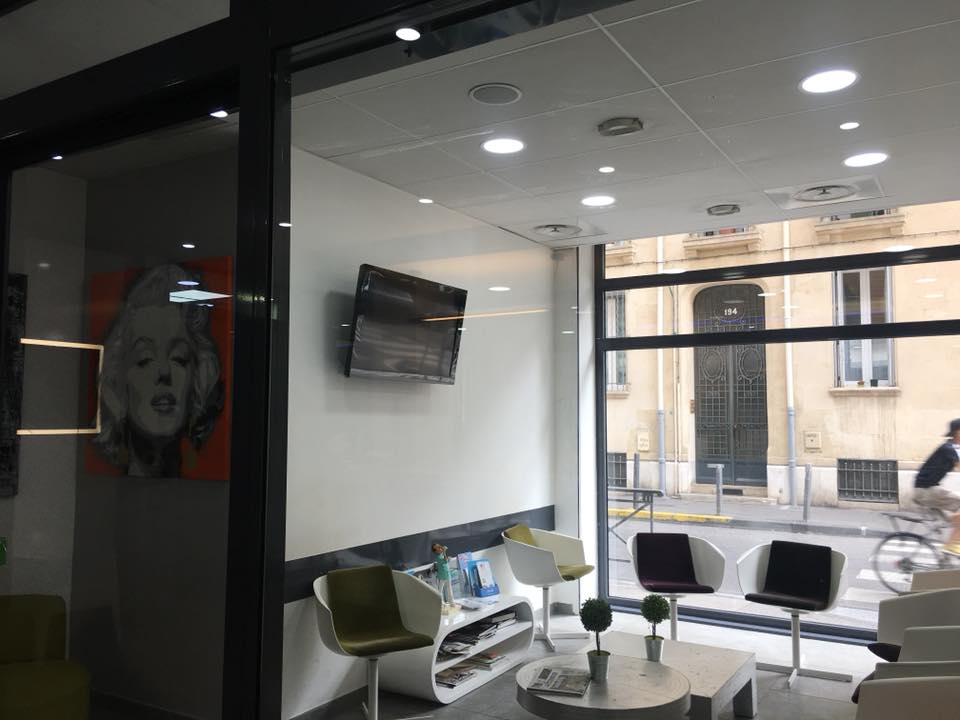 Cabinet dentaire climatisation